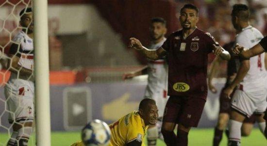 Náutico estreia com empate na Copa do Nordeste 2020; veja lances