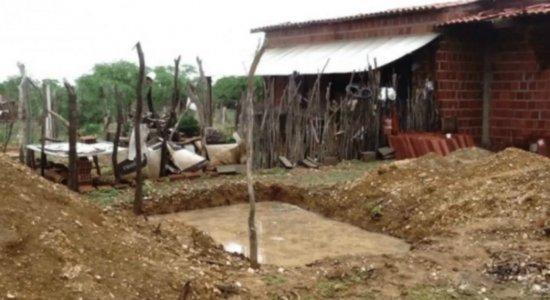 Criança de 3 anos morre afogada em fossa aberta em terreno no Sertão