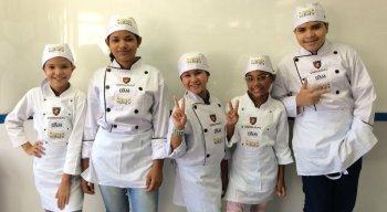 Todos os candidatos da 2ª edição do Mini Chef na TV Jornal