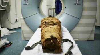 A múmia era um sacerdote egípcio que usava sua voz como parte essencial de seus deveres rituais