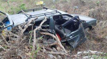 O acidente ocorreu na manhã desta sexta