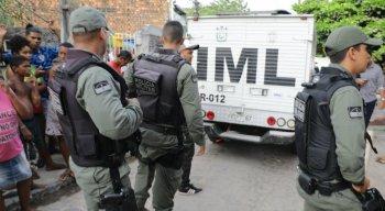 A mulher foi morta a facadas pelo marido em Olinda