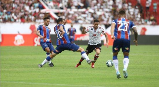 Em jogo empolgante, Santa Cruz e Bahia ficam no empate pela Copa do Nordeste