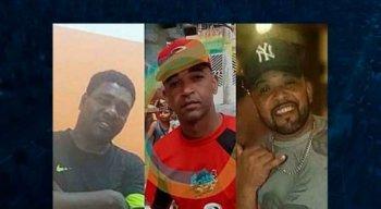As três vítimas da chacina em São Paulo