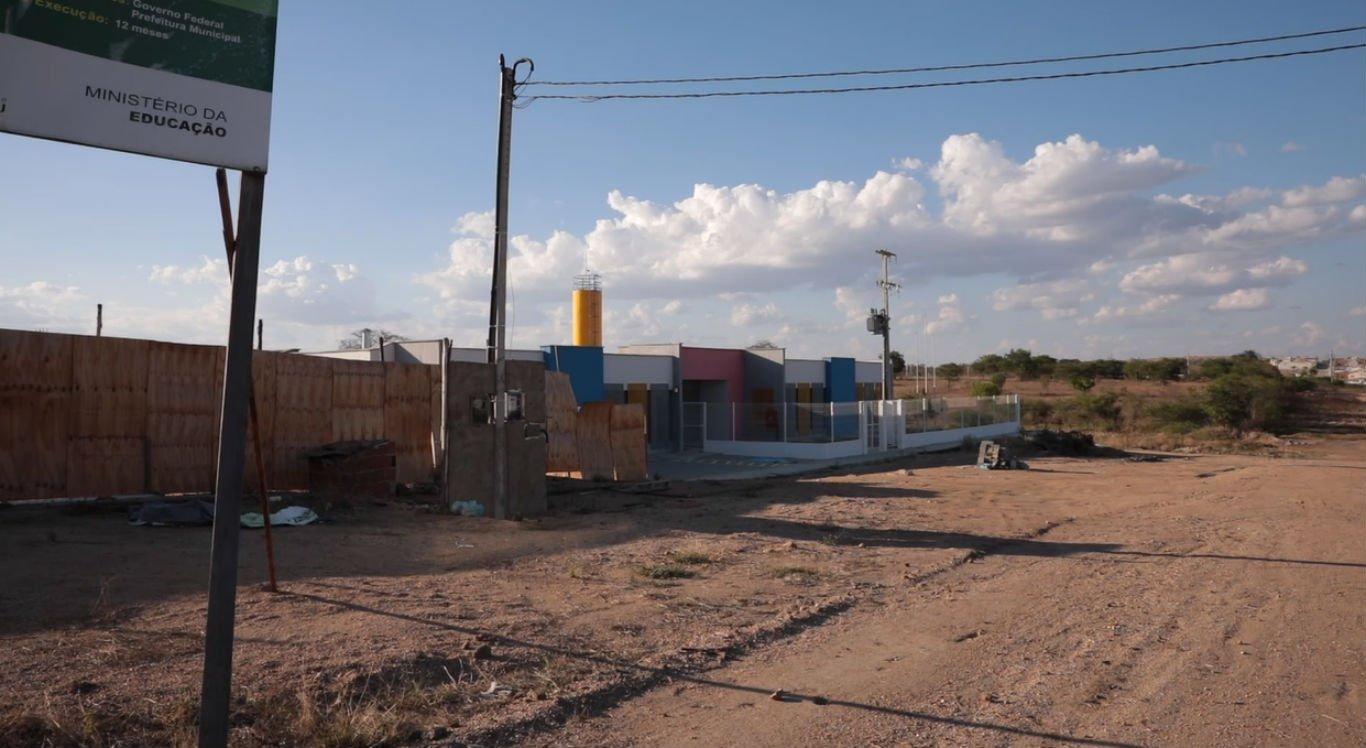 Várias creches estão em construção em Caruaru