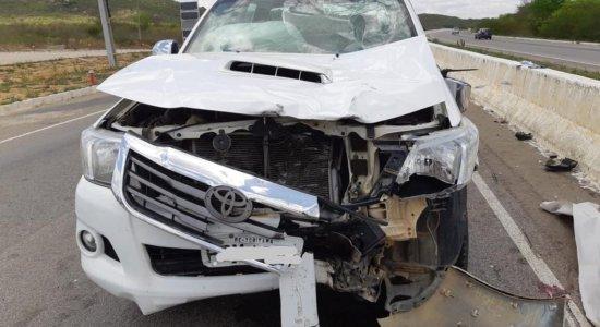 Colisão entre moto e carro deixou uma pessoa morta