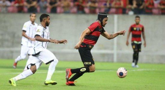 Hernane volta a defender Sport quase três meses depois de lesão