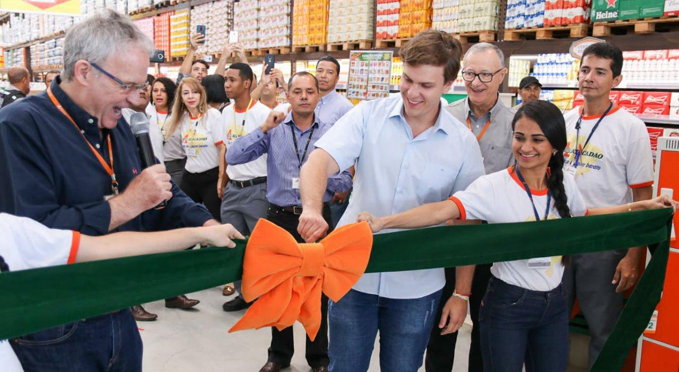 Loja do Atacadão foi inaugurada no bairro Jardim Amazonas