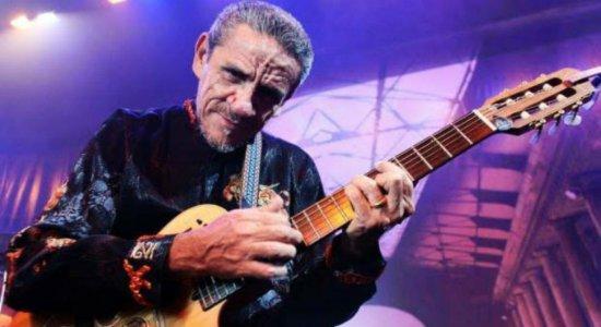 Zé Ramalho abre programação do fim de semana com show no Teatro Guararapes