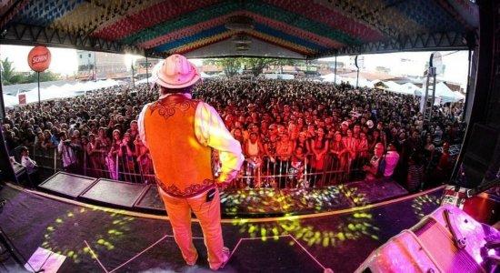 Santanna se apresentou no Polo Alto do Moura, em Caruaru