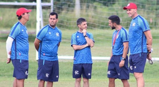 Náutico inicia semana focado na Copa do Brasil