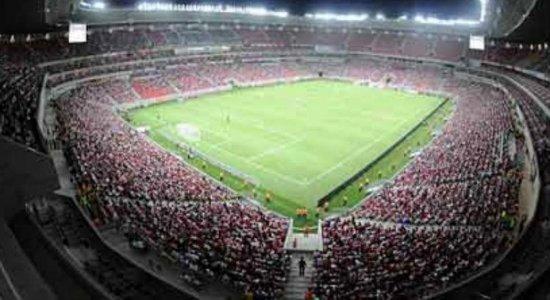 Confira os valores dos ingressos para Brasil x Bolívia na Arena de Pernambuco