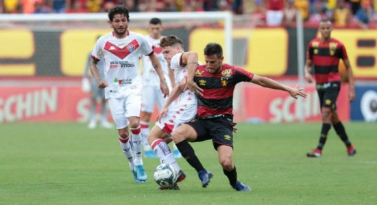 Sport enfrenta o Brusque pela Copa do Brasil nesta quarta-feira