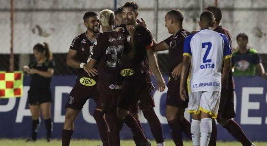 Veja os gols de Náutico 2 x 0 Freipaulistano pela Copa do Nordeste
