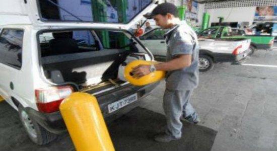 Gás natural veicular tem aumento de mais 4% no valor em Pernambuco