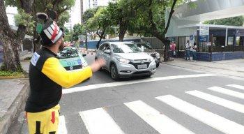 A CTTU montou esquema para auxiliar o trânsito do Recife neste período