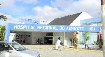 Os feridos foram trazidos para o Hospital Regional do Agreste