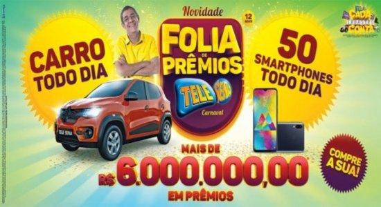 Confira o resultado do 4º sorteio da Tele Sena de Carnaval