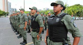 Ao todo, 510 policiais militares recém-formados vão participar da operação