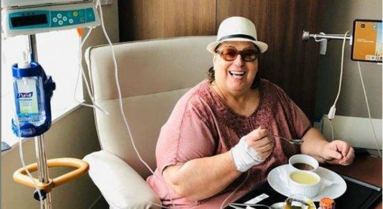 Lutando contra um câncer, Mamma Bruschetta recebe alta do hospital