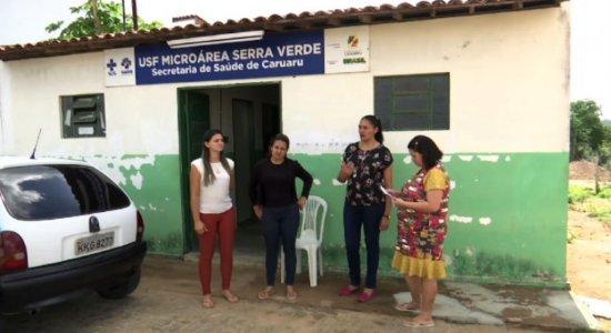 Sem escola, alunos de Caruaru têm aula dentro de posto de saúde