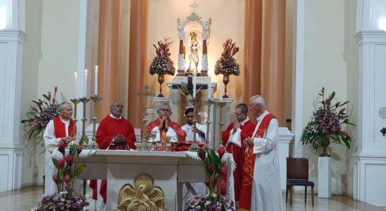 Missa para celebrar Santa Águeda, padroeira de Pesqueira