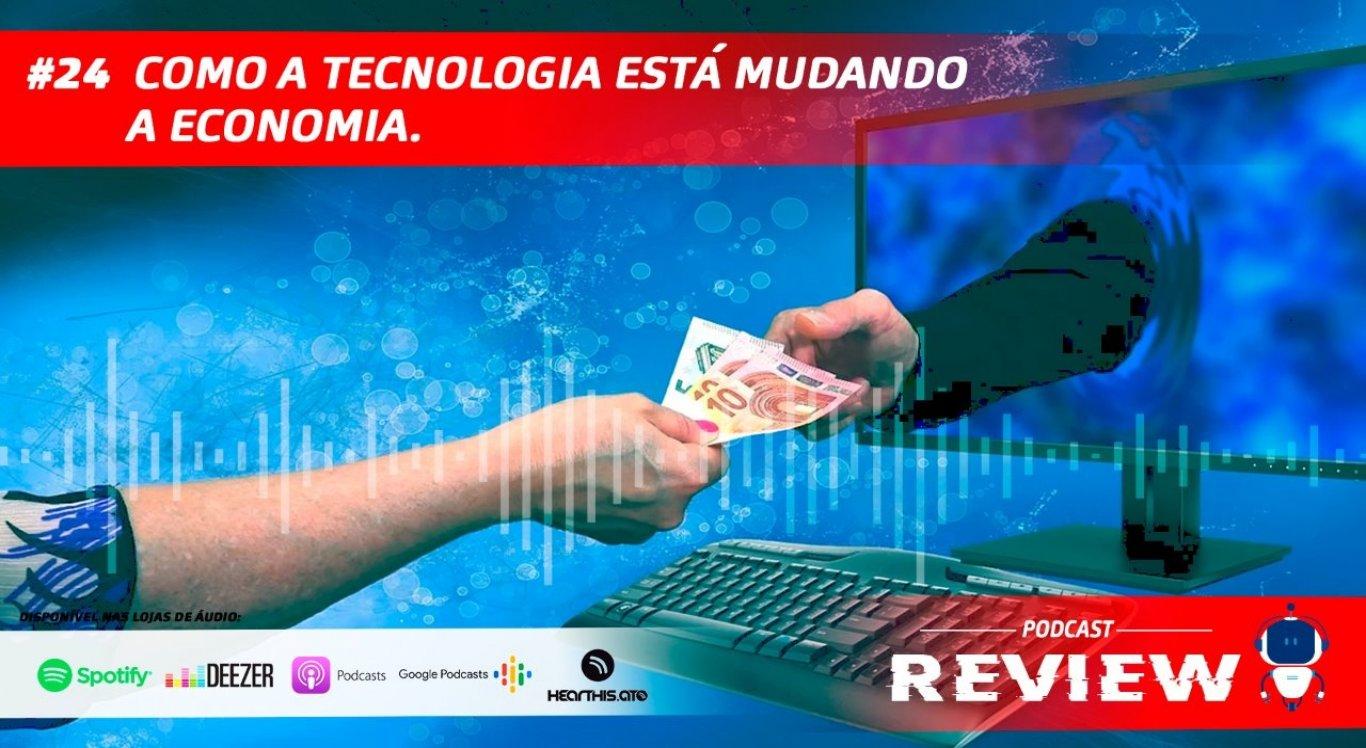 Giliard Santana conversa com o economista Pedro Neves