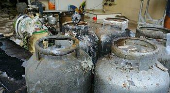 Ainda não se sabe o que causou o incêndio na galeria em Boa Viagem