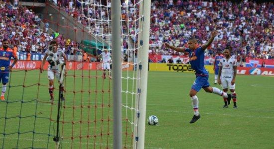 Santa Cruz é goleado pelo Fortaleza e segue sem vencer na Copa do Nordeste
