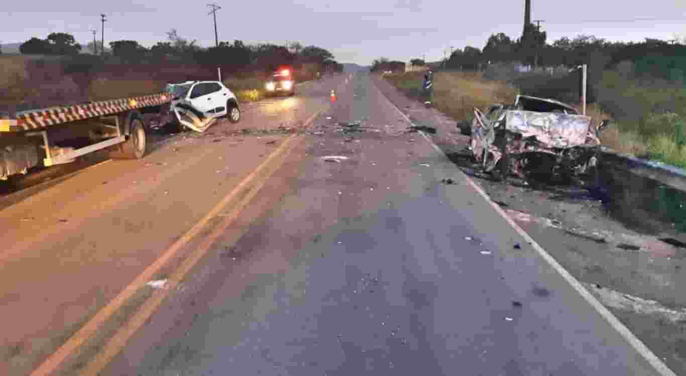 Suspeita é de que um dos veículos tenha entrado na contramão da rodovia