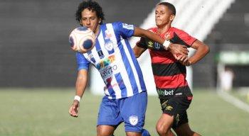 O confronto entre Decisão x Sport aconteceu no Luiz Lacerda.