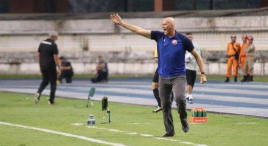 Técnico do Náutico avalia derrota para o Botafogo-PB e critica arbitragem