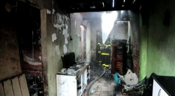 Ainda não se sabe o que causou o incêndio