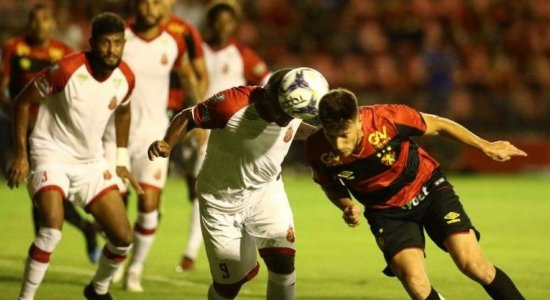 Leandro Barcia é poupado de treinamento do Sport e Marcão vira baixa por um mês