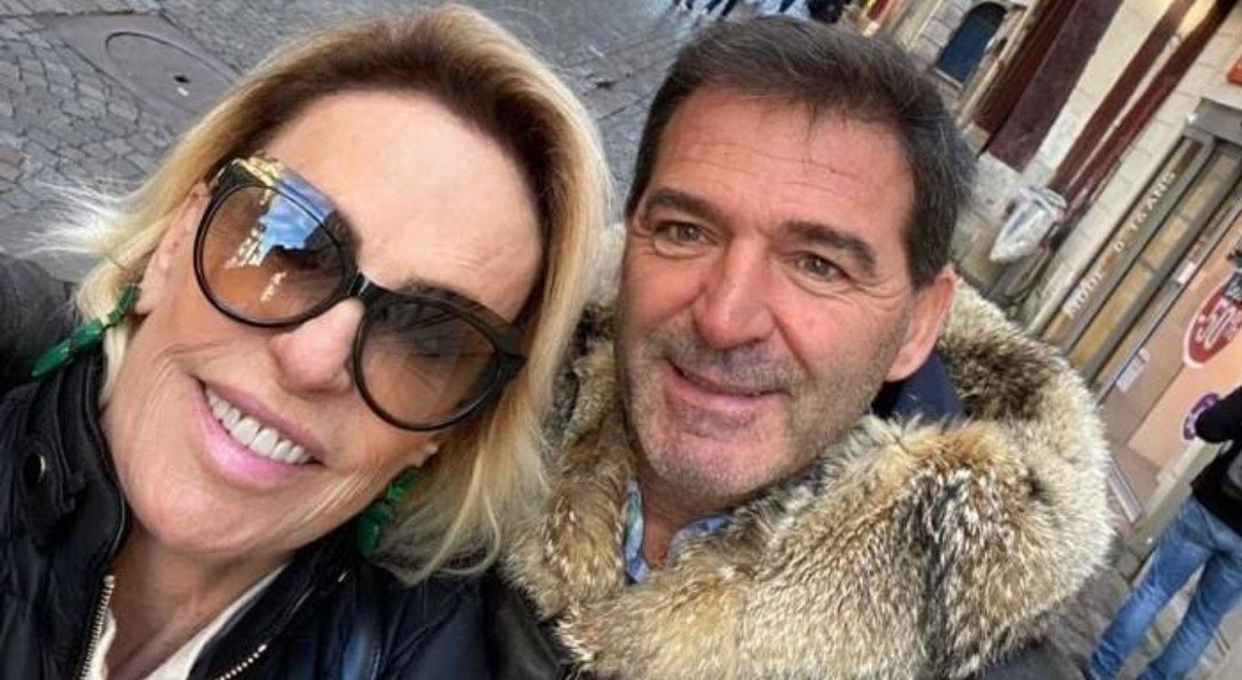 Em meio a um tratamento contra o câncer, Ana Maria Braga se casa com Johnny Lucet