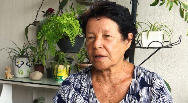 Vizinha da família, Maria de Lourdes Santos decidiu se mudar após a chacina