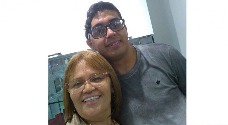 Geraldinho e a tia, dois anos após a tragédia