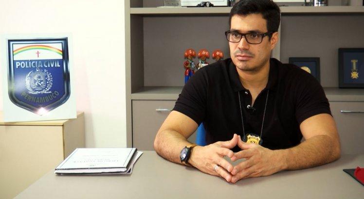Delegado Bruno Vital esteve envolvido diretamente nas investigações