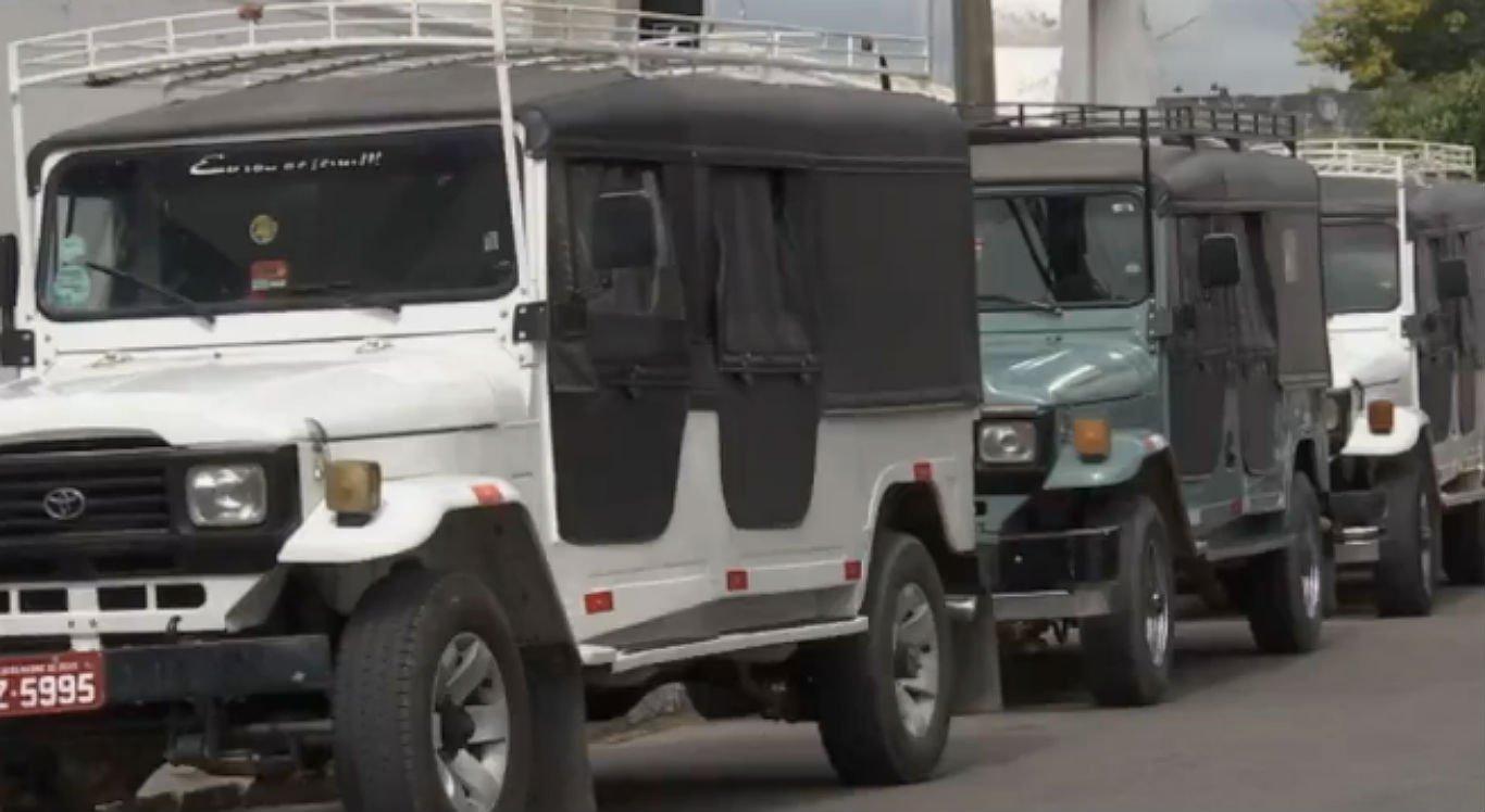 Veículos de transporte alternativo foram proibidos de circular por decisão judicial