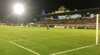 O time rubro negro perdeu por 2 x 1 e foi eliminado na primeira fase da Copa do Brasil