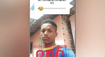 Elton John Elias da Silva, de 19 anos, foi preso por policiais militares da Rádio Patrulha