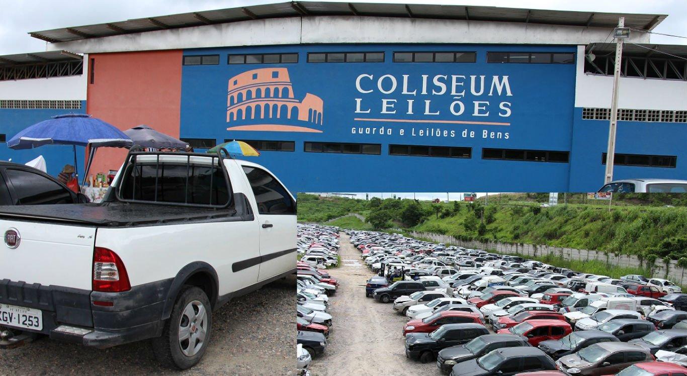 Leilão será realizado na Coliseum Leilões, em Vitória de Santo Antão