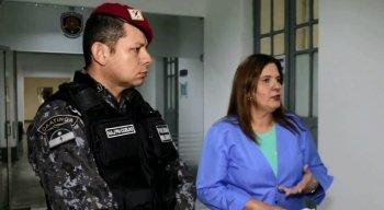 Segundo a PM, o suspeito não reagiu a prisão