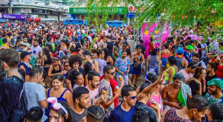Carnaval de Caruaru é realizado no centro da cidade, uma semana antes do Carnaval