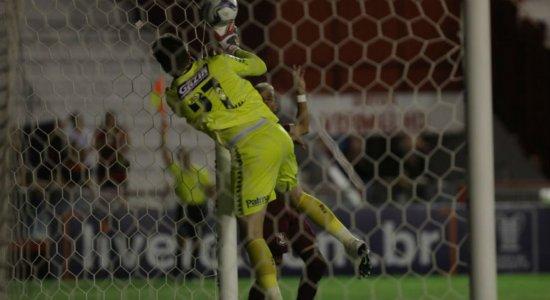 Luan Polli lamenta derrota do Sport e prega união para passar por fase ruim