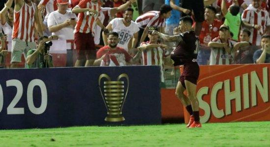 Veja os gols de Náutico 2 a 0 Sport pela Copa do Nordeste