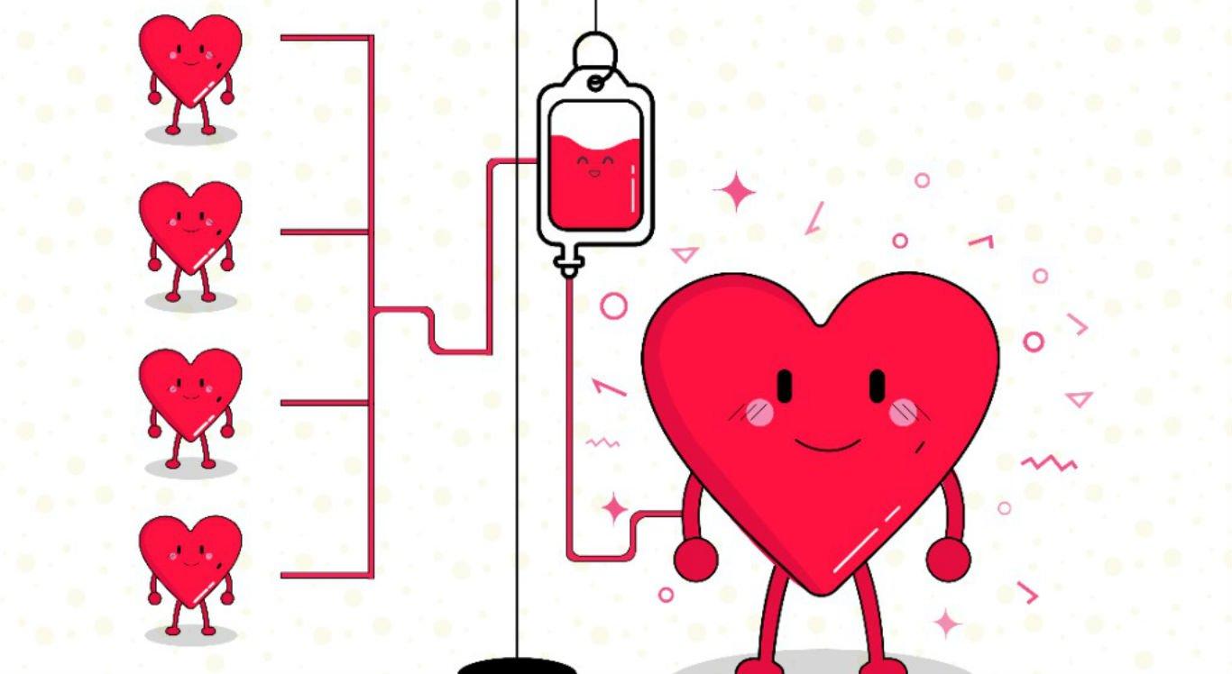 Uma doação pode salvar até quatro vidas