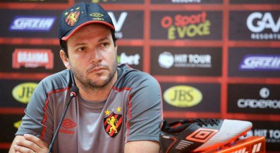 Técnico do Sport avalia situação de Jean Patrick
