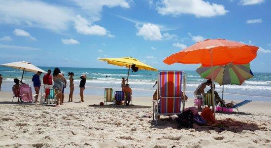 Praias de Tamandaré, no Litoral Sul de Pernambuco, são reabertas