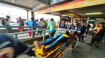 O acidente No Metrô do Recife causou pânico e dor de cabeça entre usuários